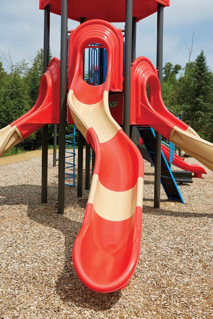 Starglide Slide Snake Left or Right   Commercial Playground Slides