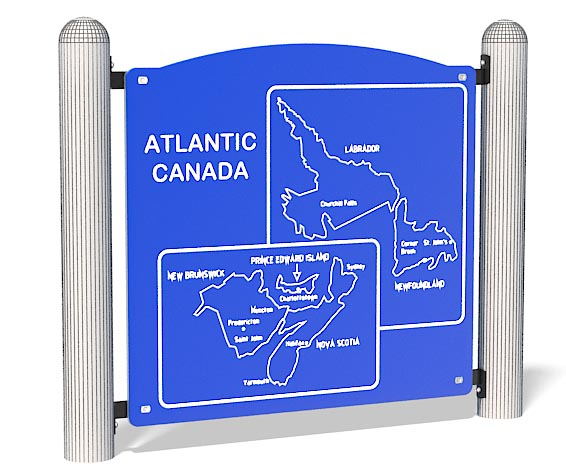 Atlantic Map Panel   Learn While Play   Henderson Recreation
