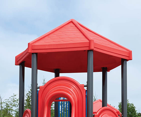 Big Roof for Playground | Roto Molded Plastic Roof | Henderson Recreation