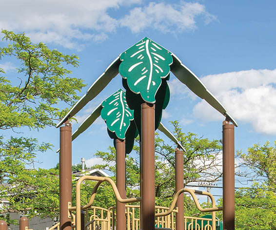 Leaf Roof for Playground | Roto Molded Plastic Roof | Henderson RecreationLeaf Roof for Playground | Roto Molded Plastic Roof | Henderson Recreation
