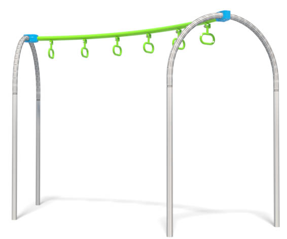 Curved Cosmic Ray for playground