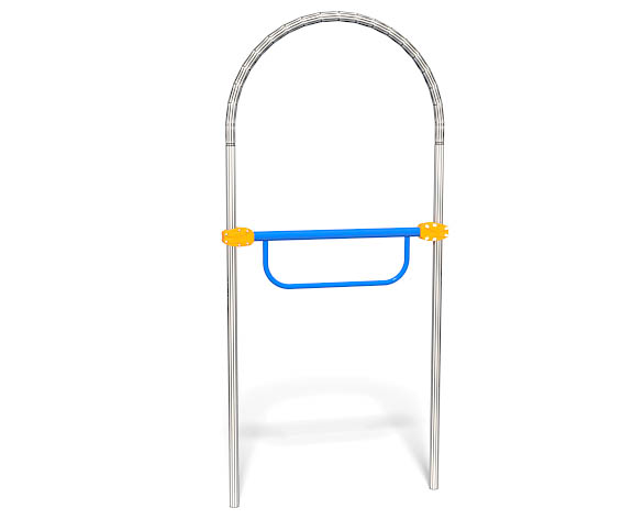 Accessible Turning Bar For Playgrounds