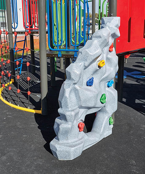 RIDGE ROCK 4 for playground | Henderson Recreation