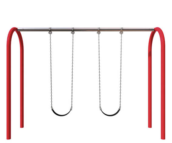 Single Bay Arch Swing | Swings Parts and Components