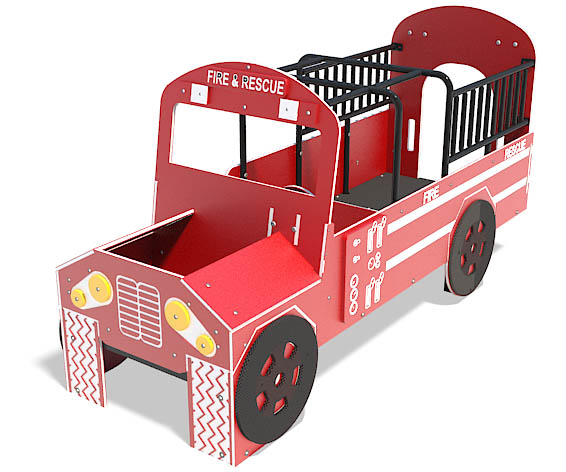 fire engine play vehicle