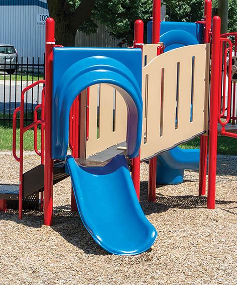 2ft Single Slide for Playground   Commercial Playground Slides