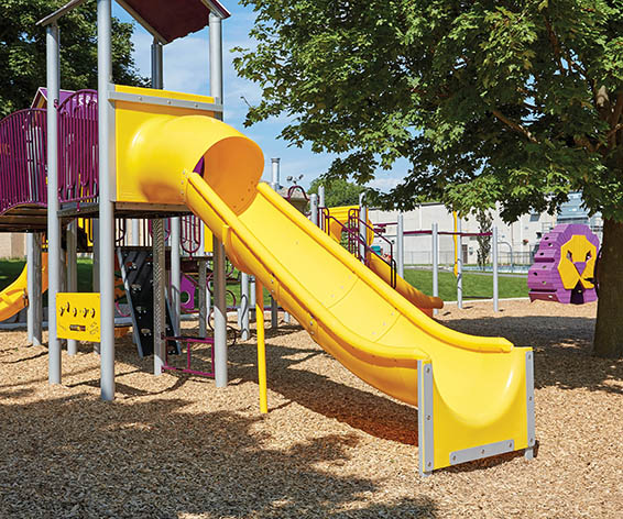 Open Super Slide for Playground | Commerical Playground Fun Equipment