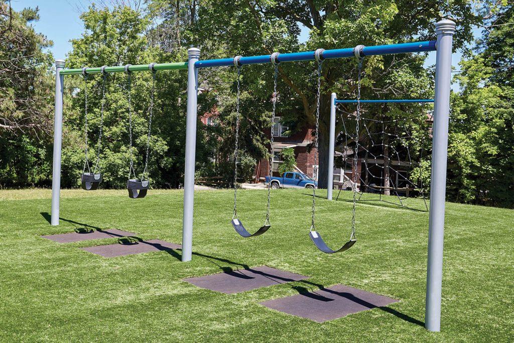 2 Bay 8ft Single Post Swing | Henderson Recreation