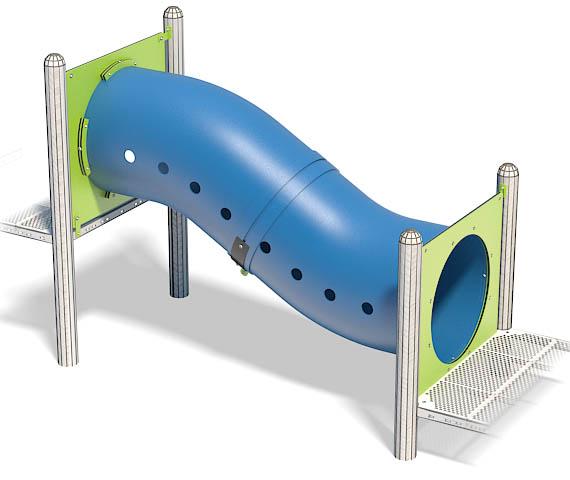 2ft Rise Crawl Tunnel | Rise in Fun | Henderson Recreation