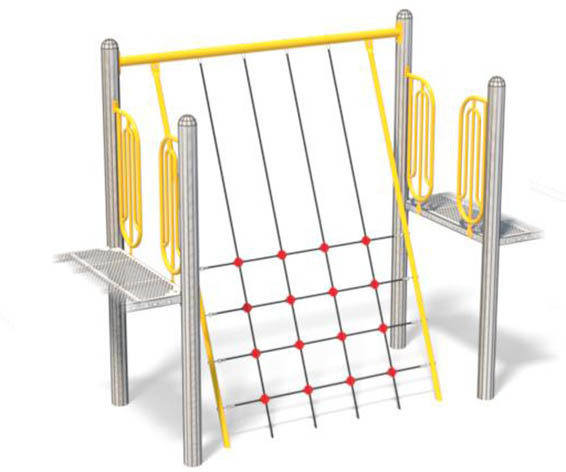 Crooked Net for Playground | Versatile Playground Component