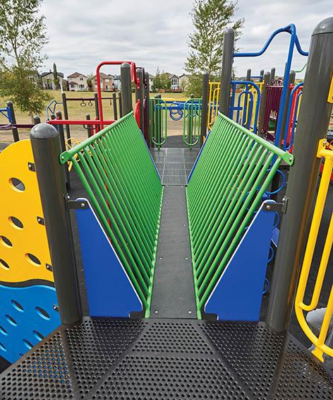 Catwalk Bridge For Playground | Narrow Bridge Crossing