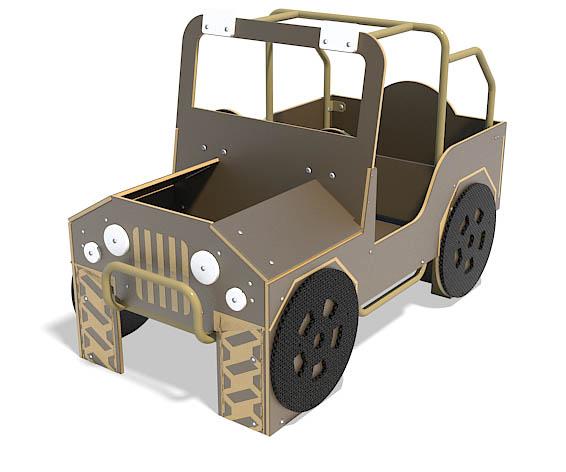 4 X 4 play vehicle for playground