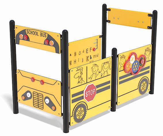 SA-TE042 Accessible School Bus Play Vehicle | Henderson Recreation