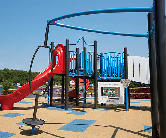 Spinner For Playground | Commercial Playground Fun Equipment