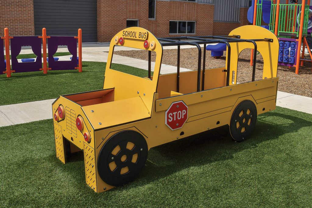 School Bus Play Vehicle for Playground   Henderson Recreation