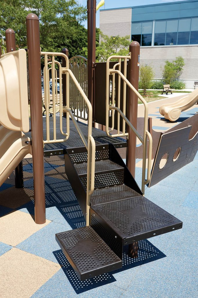 Transfer Station For Playground | Helps Children From Wheelchair to Play Area