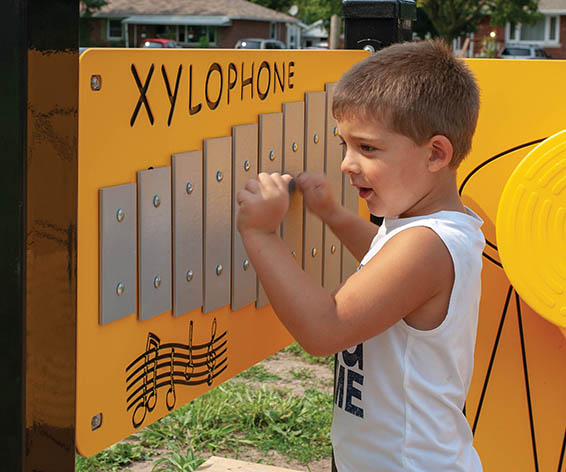 Xylophone Panel | Henderson Recreation