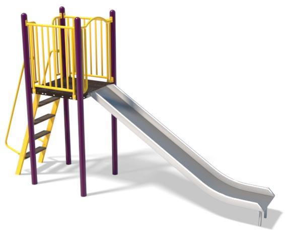 6ft Stainless Slide and Ladder   Henderson Recreation