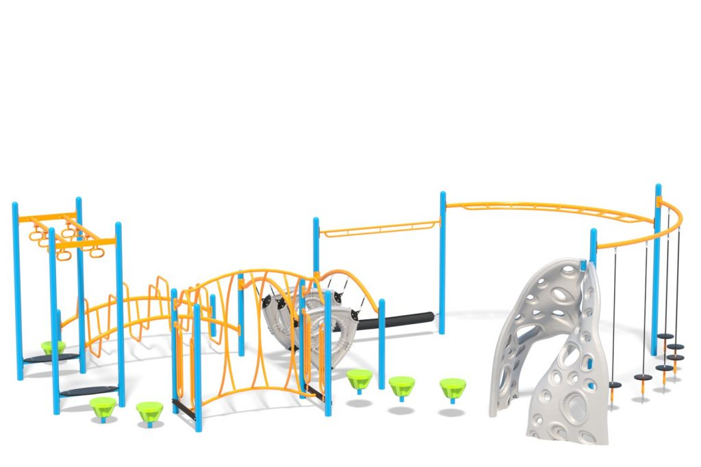 Playground Structure Model B304254R0 | Henderson Recreation