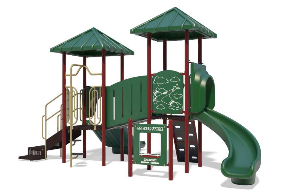 Playground Structure Model B304269R0 | Henderson Recreation