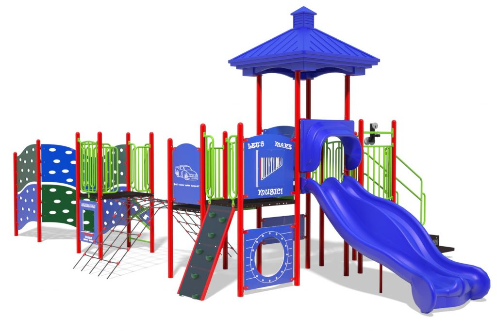 Playground Structure Model B304278R0   Henderson Recreation