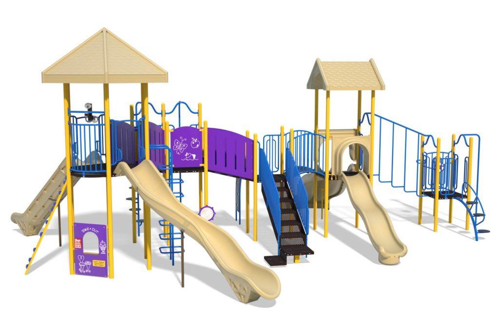 Playground Structure Model B304285R0   Henderson Recreation