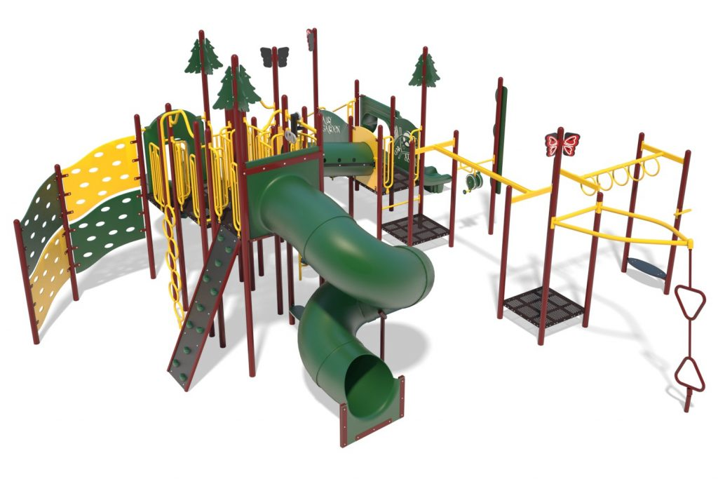 Playground Structure Model B304288R0   Henderson Recreation