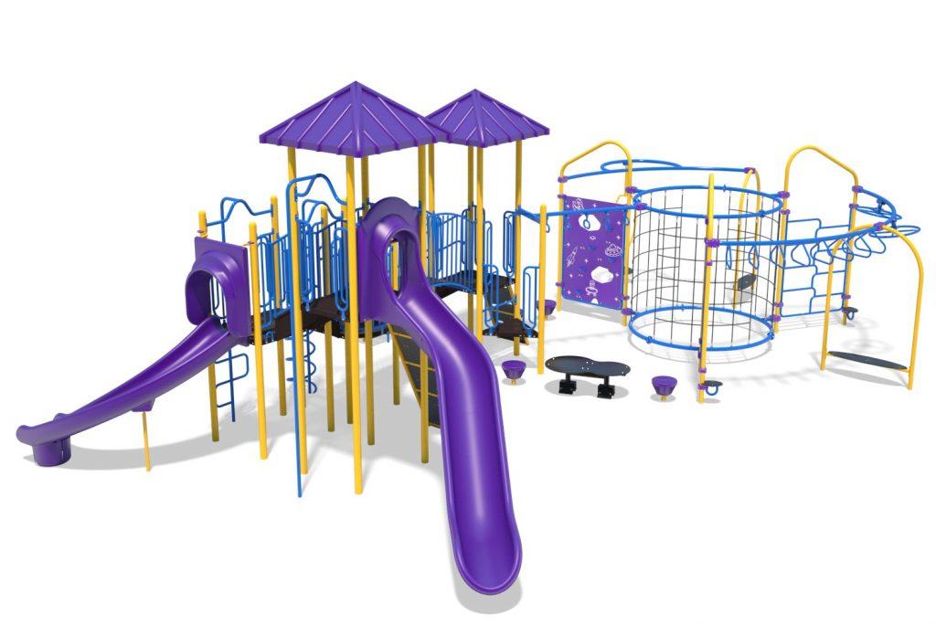 Playground Structure Model B304297R0 | Henderson Recreation