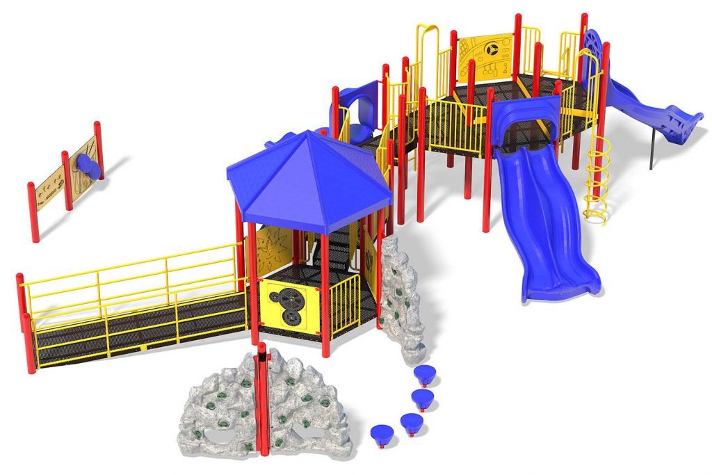 Playground Structure Model B501525R0 | Henderson Recreation