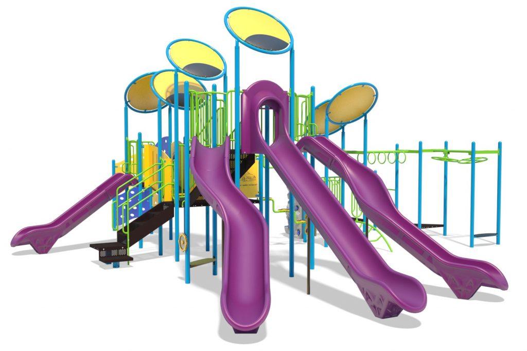 Playground Structure Model B304309R0 | Henderson Recreation