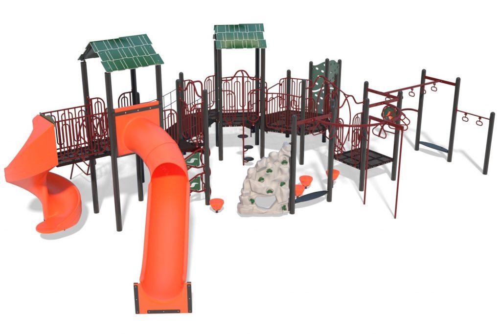 Playground Structure Model B502261R0 | Henderson Recreation