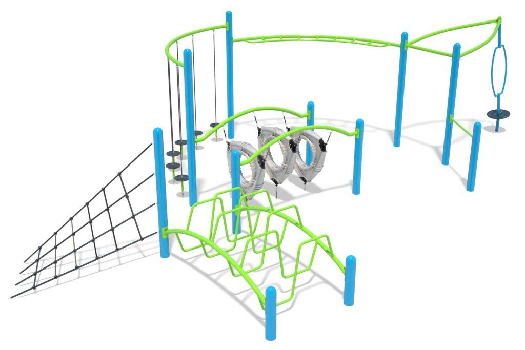 Playground Structure Model B502267R0 | Henderson Recreation