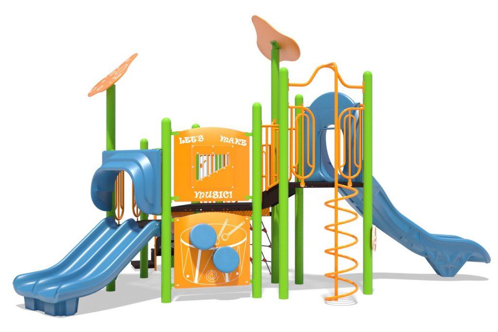 Playground Structure Model B502268R0 | Henderson Recreation