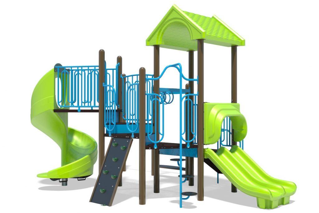 Playground Structure Model B502269R0 | Henderson Recreation