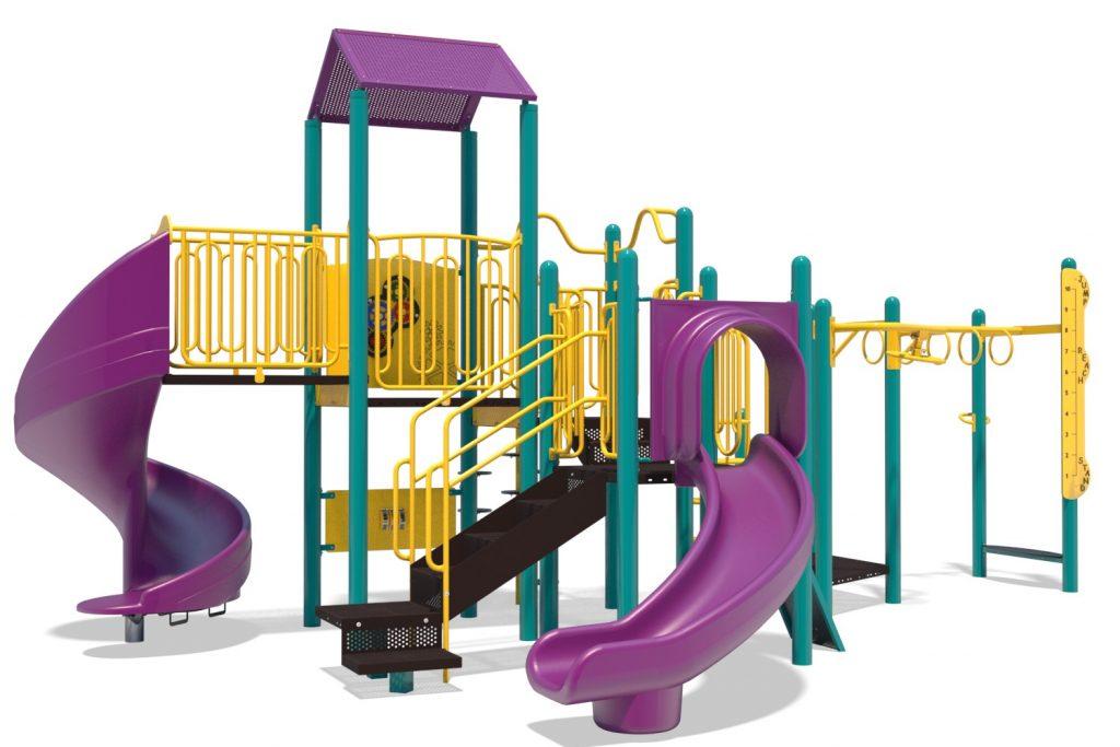 Playground Structure Model B502273R0 | Henderson Recreation
