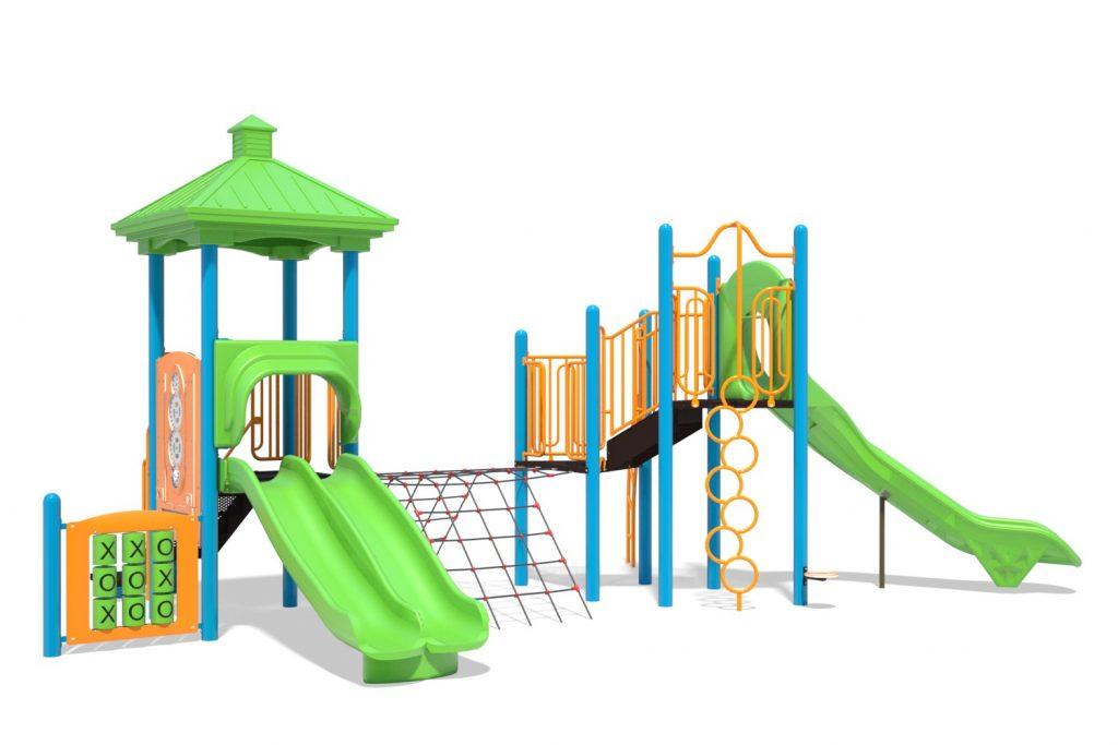 Playground Structure Model B502277R0 | Henderson Recreation
