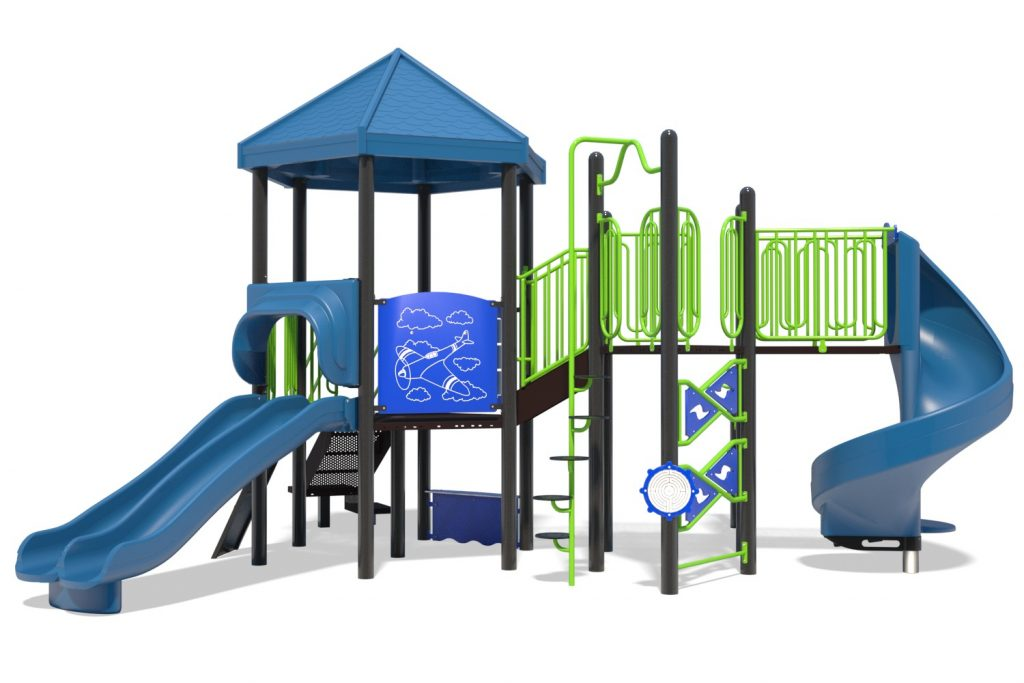 Playground Structure Model B502278R0   Henderson Recreation