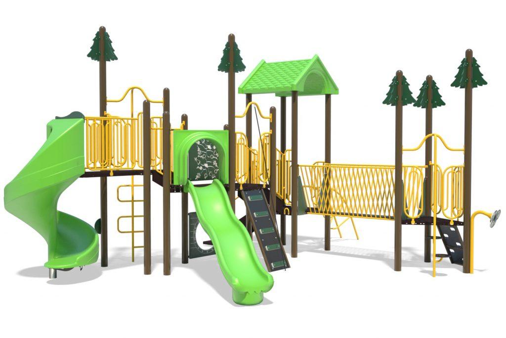 Playground Structure Model B502283R0 | Henderson Recreation