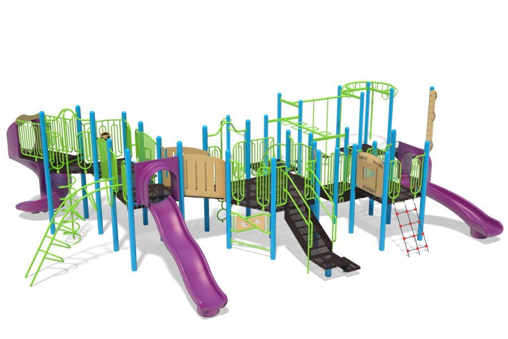 Playground Structure Model B502285R0 | Henderson Recreation