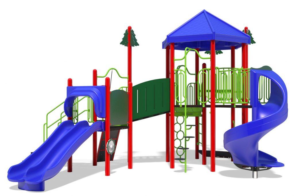 Playground Structure Model B502287R0 | Henderson Recreation