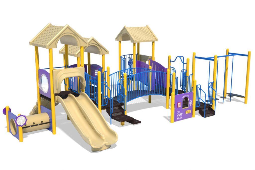 Playground Structure Model B502296R0 | Henderson Recreation