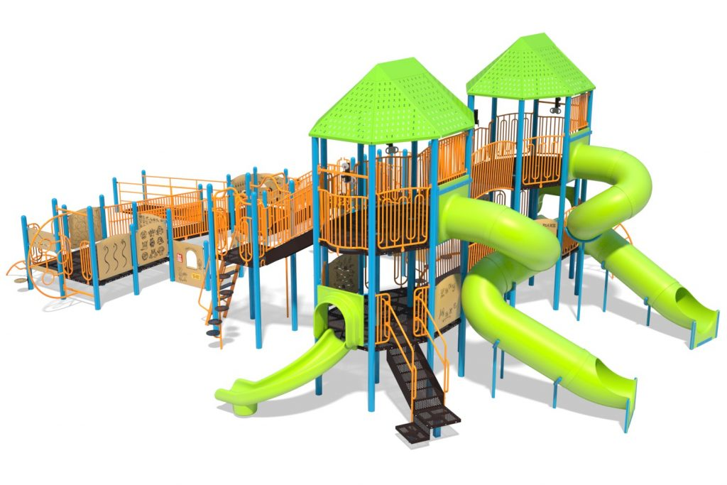 Playground Structure Model B502299R0 | Henderson Recreation