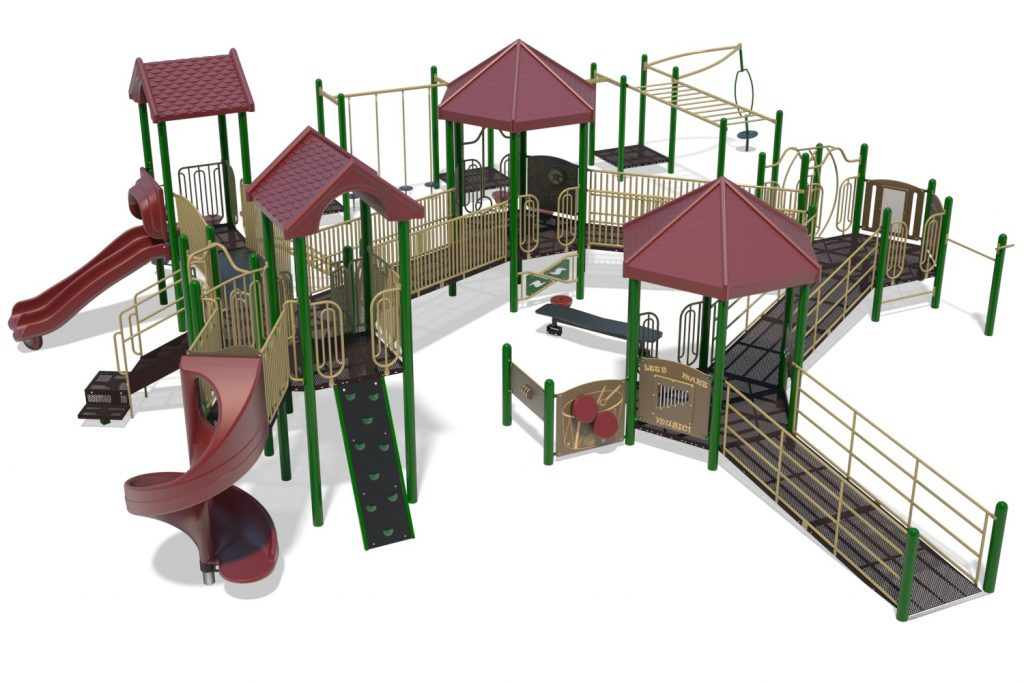 Playground Structure Model B502302R0 | Henderson Recreation