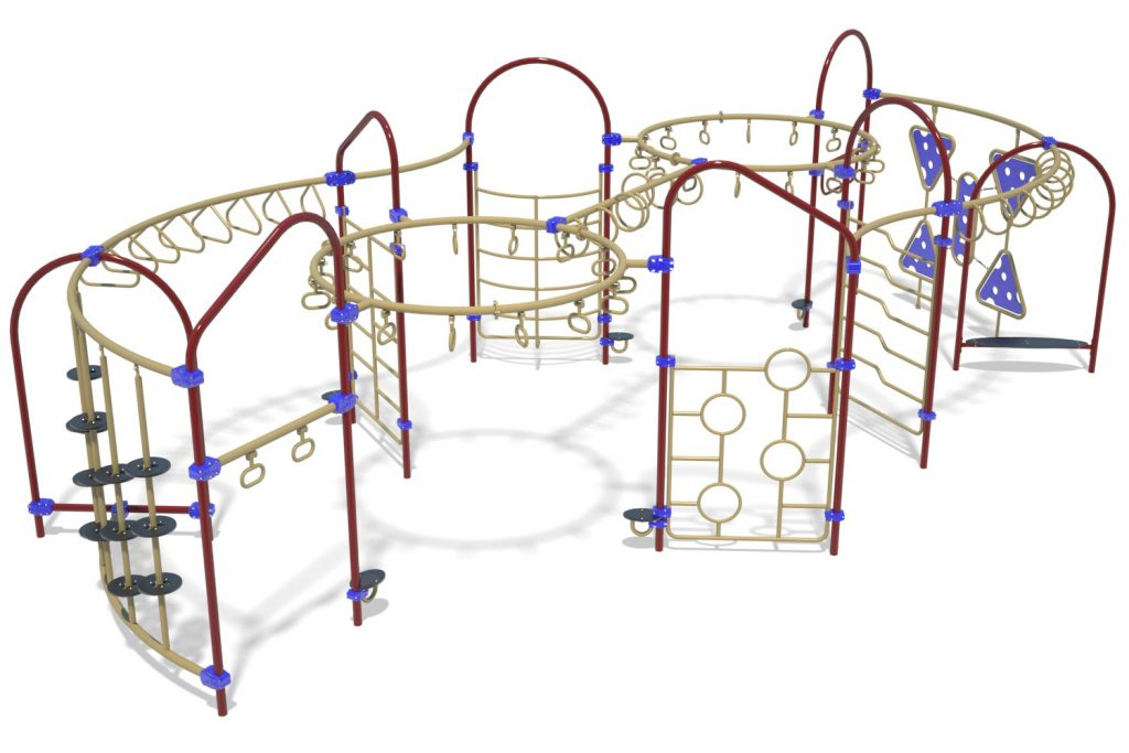 Playground Structure Model OB00458R0 | Henderson Recreation