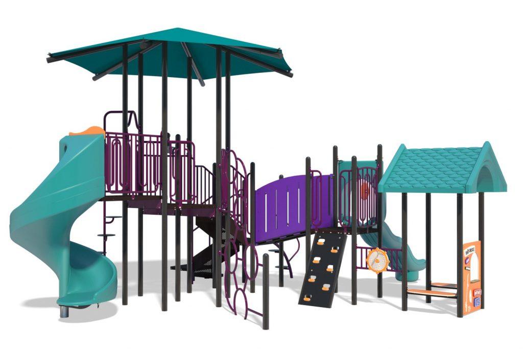 Playground Structure Model B304456R0 | Henderson Recreation