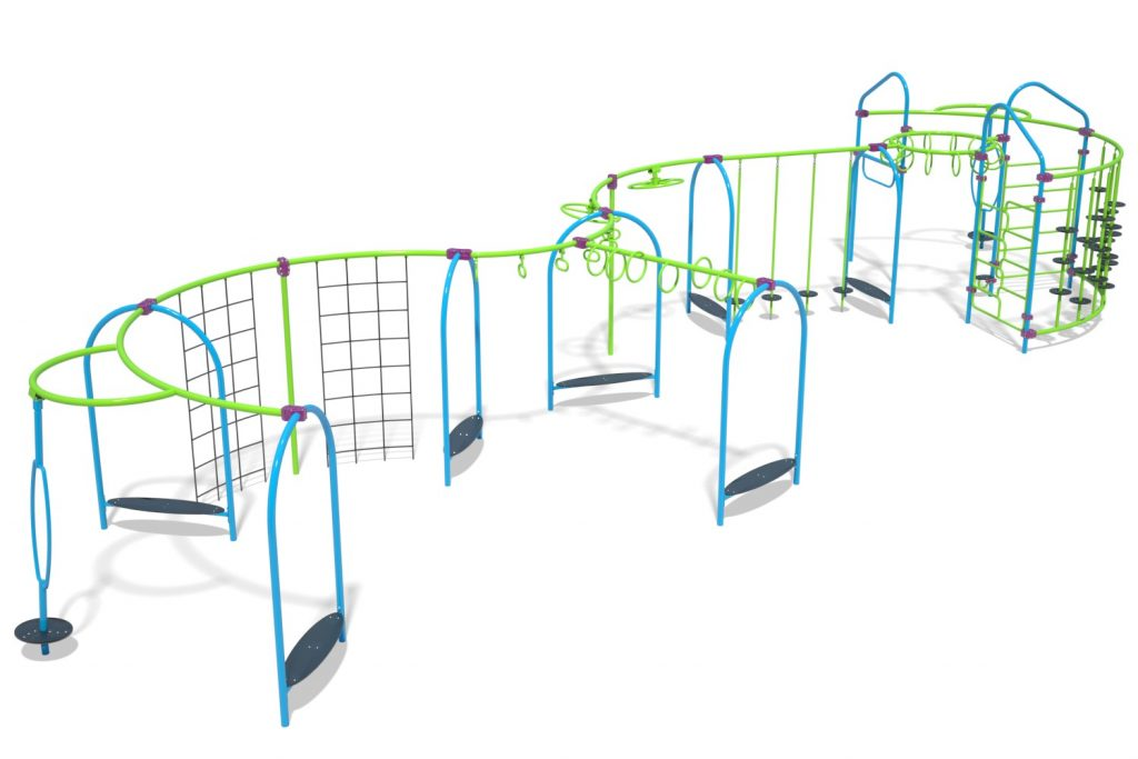 Playground Structure Model OB00462R0 | Henderson Recreation