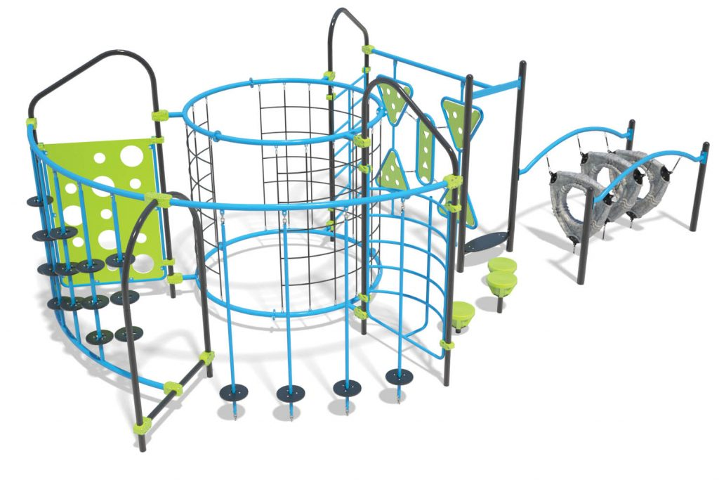 Playground Structure Model OB00471R0 | Henderson Recreation