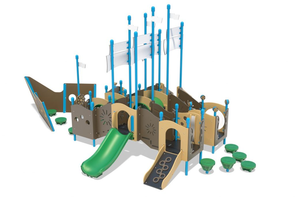 Playground Structure Model PT20073R0 | Henderson Recreation