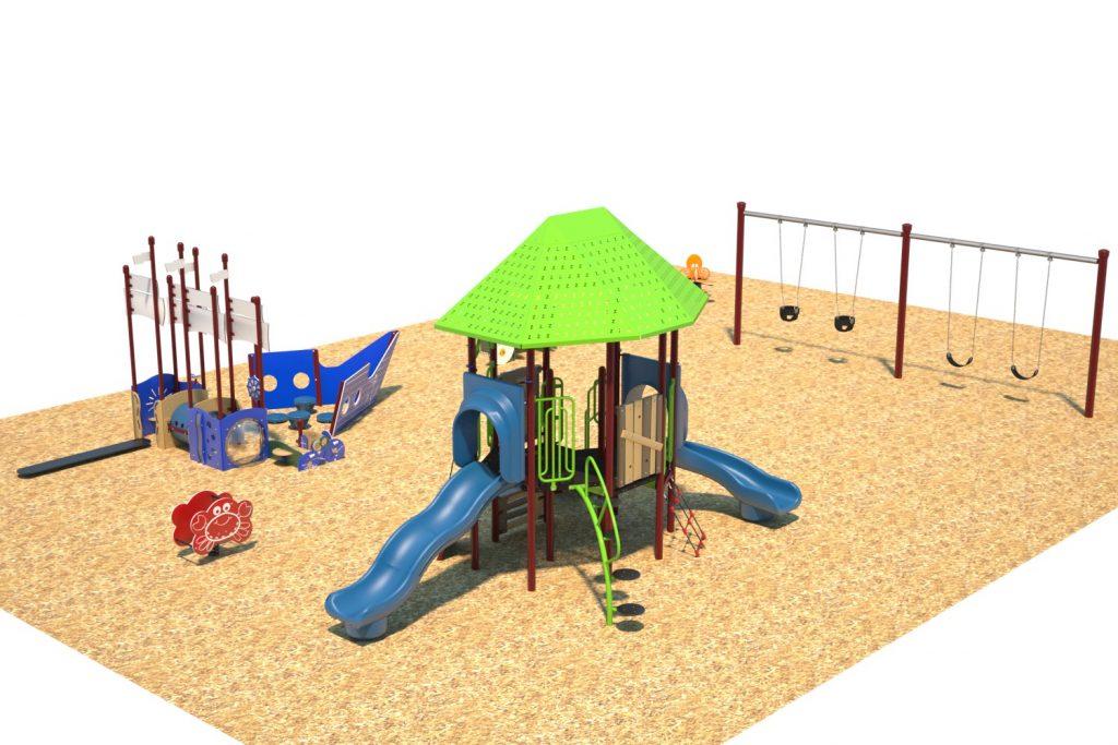 Playground Structure Model B304398R0   Henderson Recreation