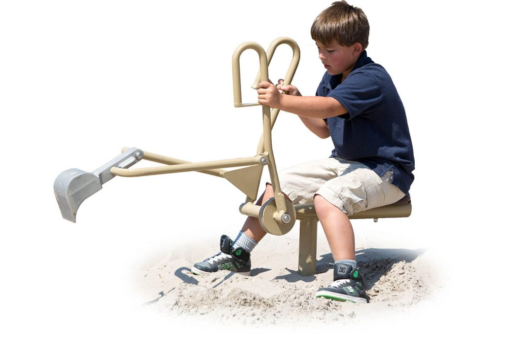 Sand digger for playground | Henderson recreation